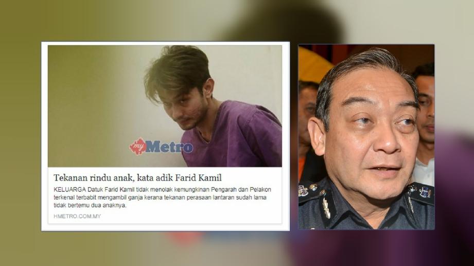 KETUA Polis Selangor, Datuk Mazlan Mansor. FOTO Faiz Anuar