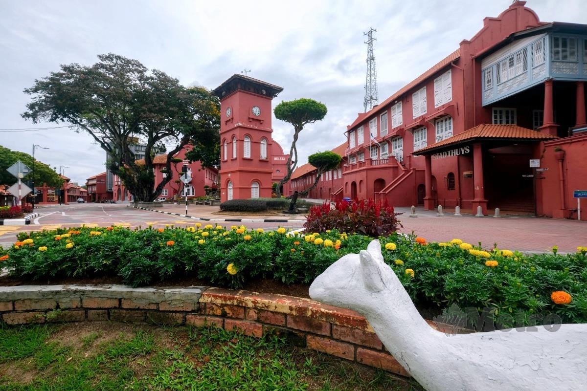Bangunan Stadthuys, Melaka. FOTO BERNAMA