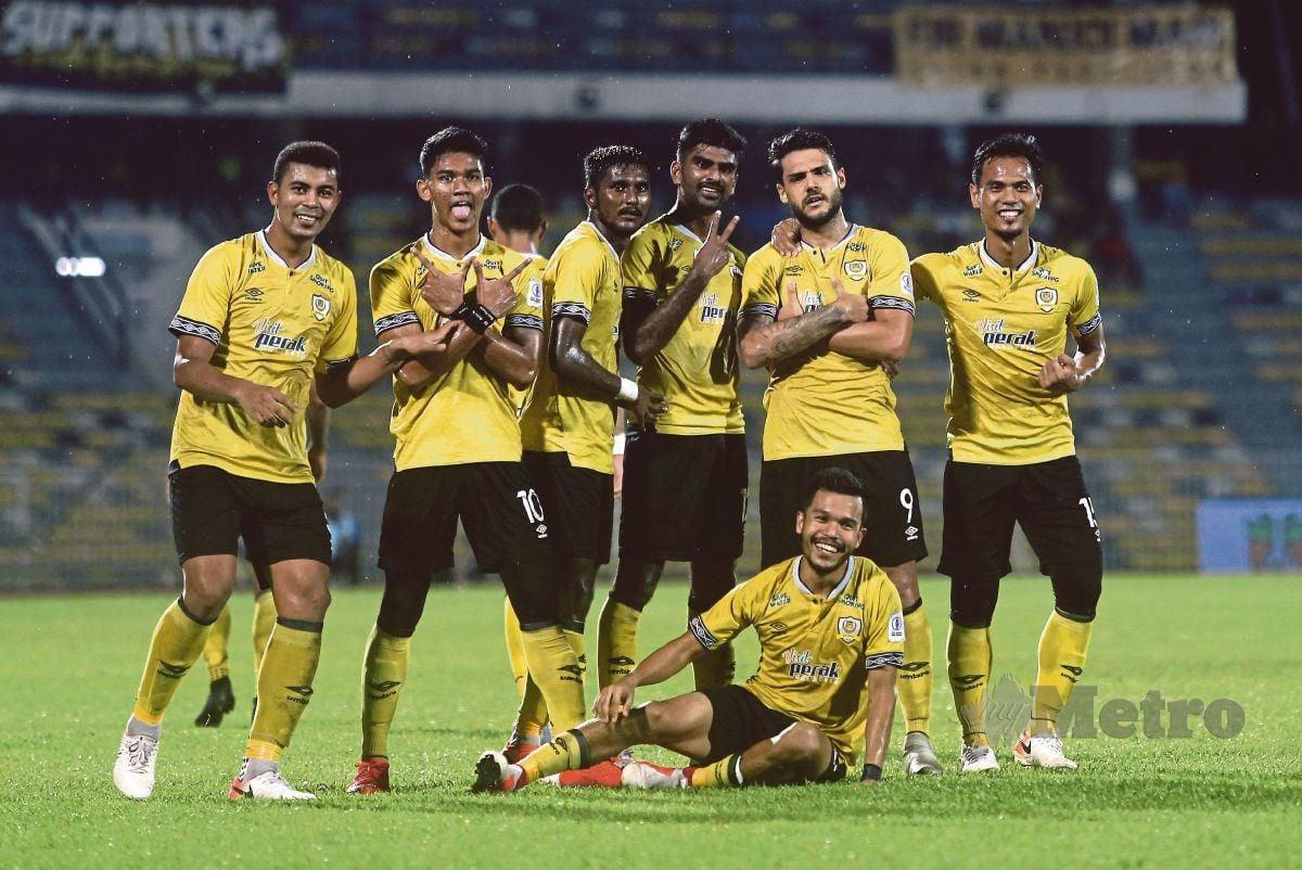 PEMAIN Perak FC. FOTO EFFENDY RASHID