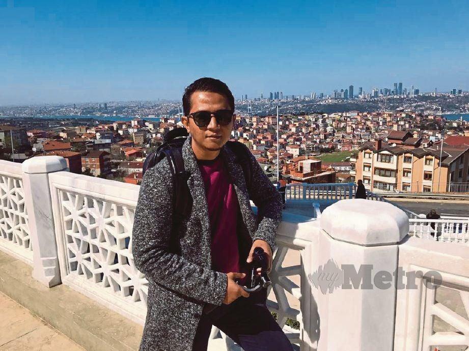MOHD Khalid kini mencari rezeki dalam bidang pelancongan di Istanbul, Turki.