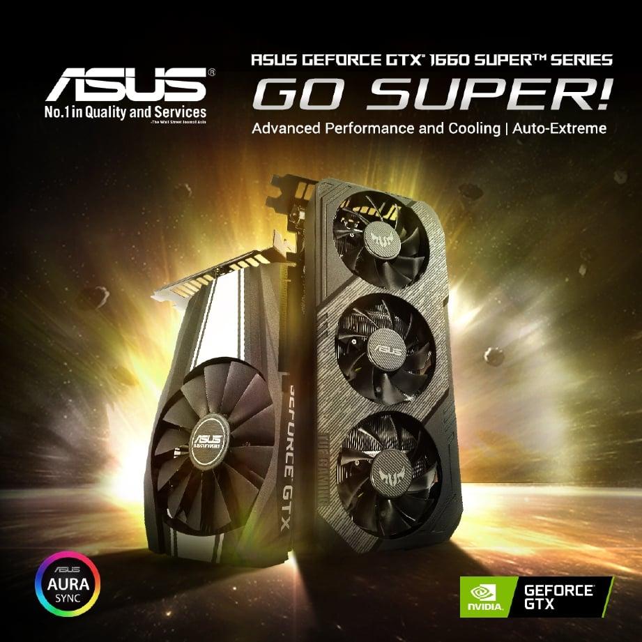 ASUS GTX 1660 sesuai untuk yang tidak mempunyai bajet tinggi untuk set desktop mereka.