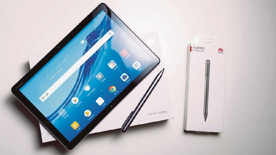 HUAWEI MediaPad M5 Lite sesuai untuk kanak-kanak kerana mempunyai kawalan untuk golongan berkenaan.
