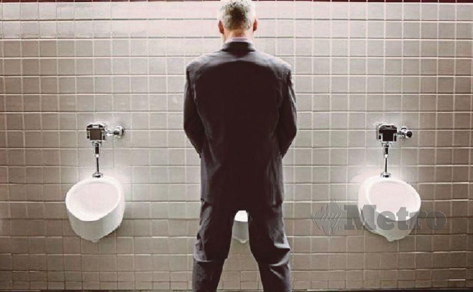 SEMAKIN ramai lelaki membuang air kecil berdiri.