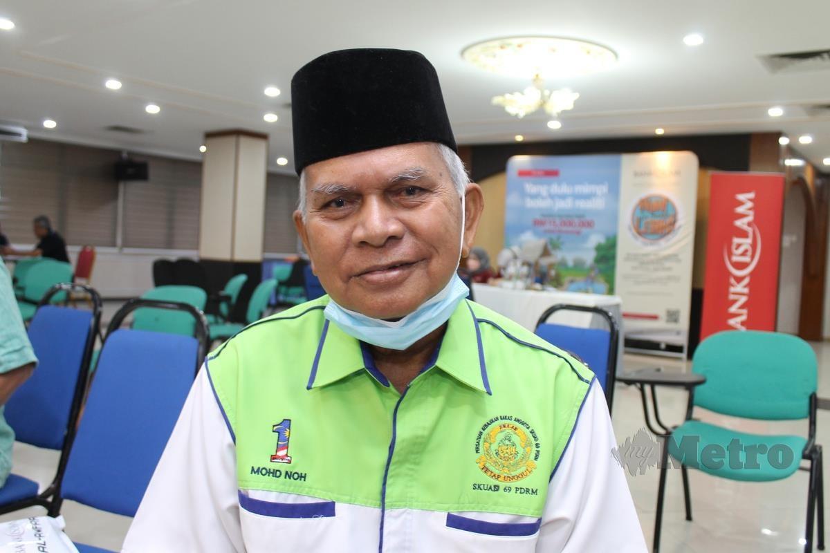 Mohd Noh Mansor, bekas anggota PPH. FOTO MOHD AMIN JALIL