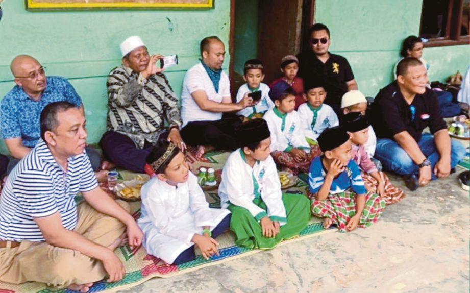 SESI ramah mesra di Pondok Pesantren Al Pancory NW Batam.