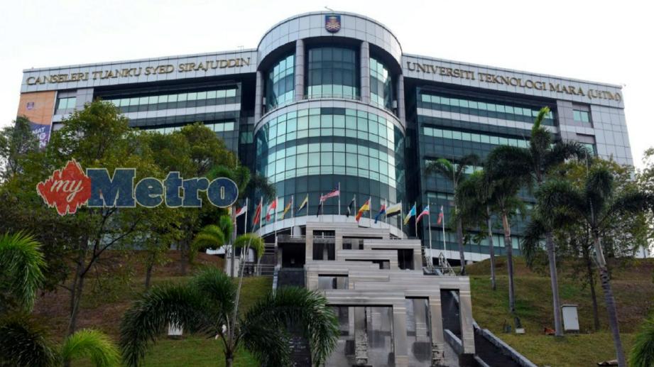 UNIVERSITI Teknologi Mara. FOTO Mohd Asri Saifuddin Mamat