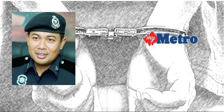 Ketua Polis Daerah Penampang, Mohd Haris Ibrahim. FOTO NSTP