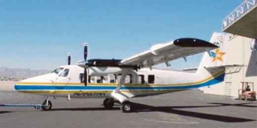 PESAWAT  Twin Otter DHC-6 milik Aviastar Mandiri yang dilaporkan hilang.