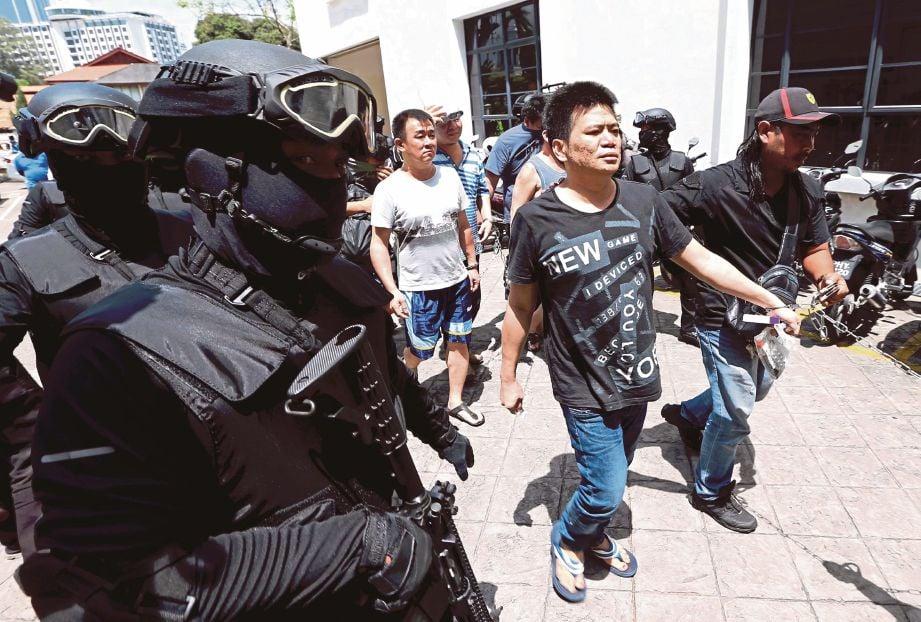 STAFOC terus giat membanteras jenayah terancang.