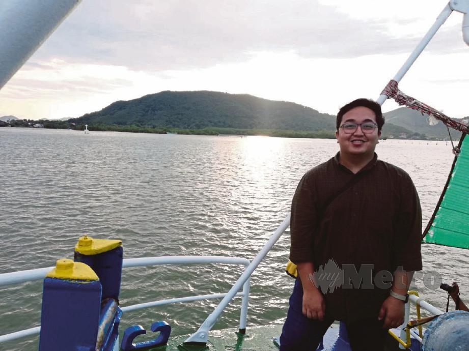 PENGALAMAN ketika berada di atas bot Yodkhunpon antara yang sukar penulis lupakan. FOTO Yazit Razali dan Faliq Lajim