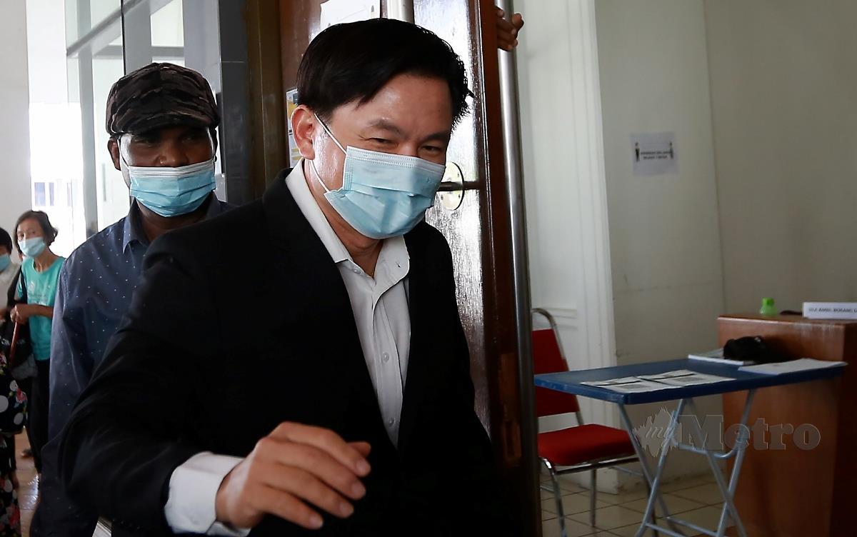 Ahli Dewan Undangan Negeri (Adun) Tronoh Paul Yong Choo Kiong. FOTO Sharul Hafiz Zam