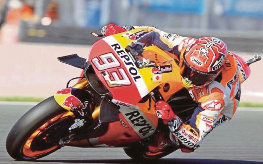MARQUEZ mahu kekal cengkaman pendahulu MotoGP.