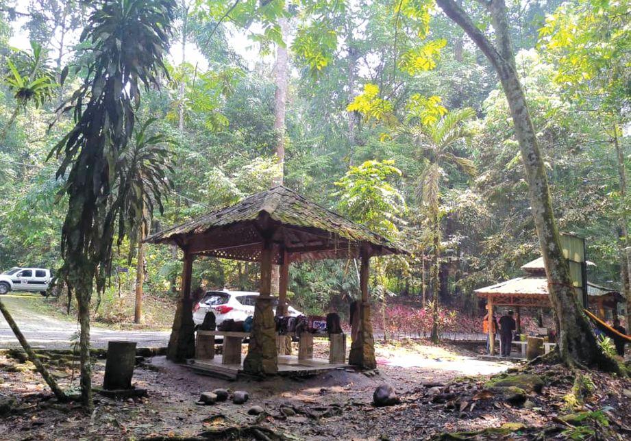 WAKAF disediakan untuk kemudahan pengunjung.