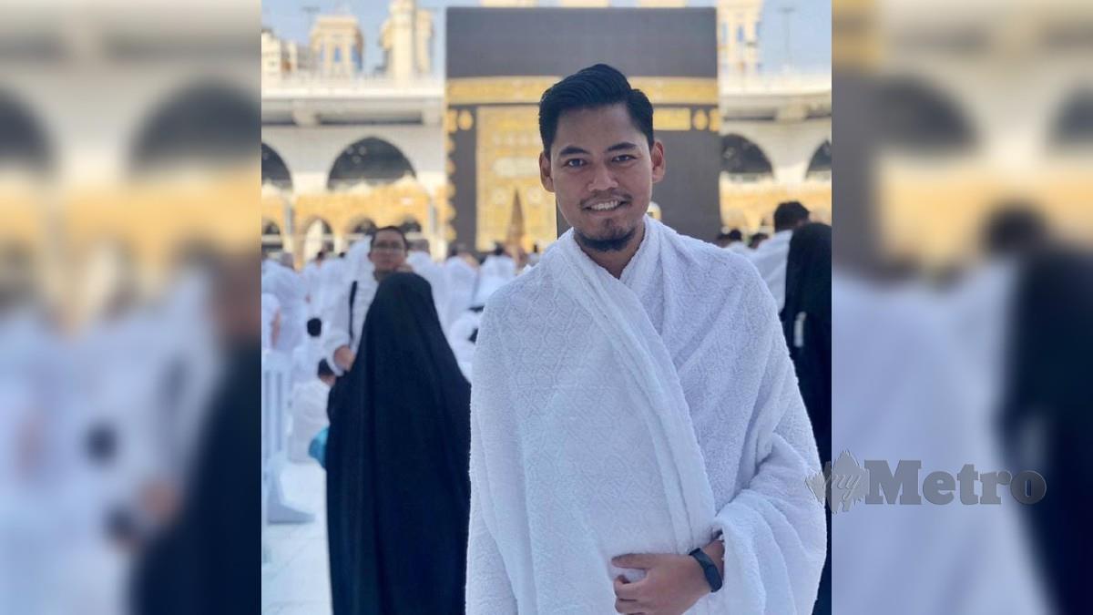 Rakyat Malaysia, Ahmad Najhan Hassim, 30, yang juga seorang jururawat di Hospital Pakar King Faisal, Jeddah antara 263 rakyat Malaysia dipilih menunaikan haji menggunakan kuota Arab Saudi. FOTO Ihsan Najhan
