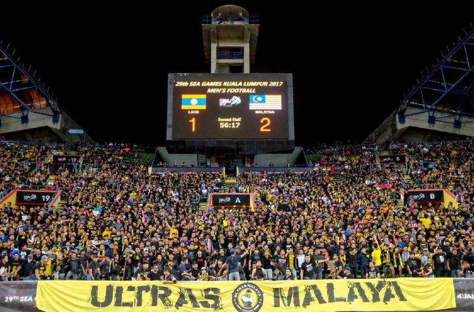 PEMAIN dan jurulatih negara aku ketiadaan Ultras Malaya jejaskan prestasi pemain. -Foto ASYRAF HAMZAH