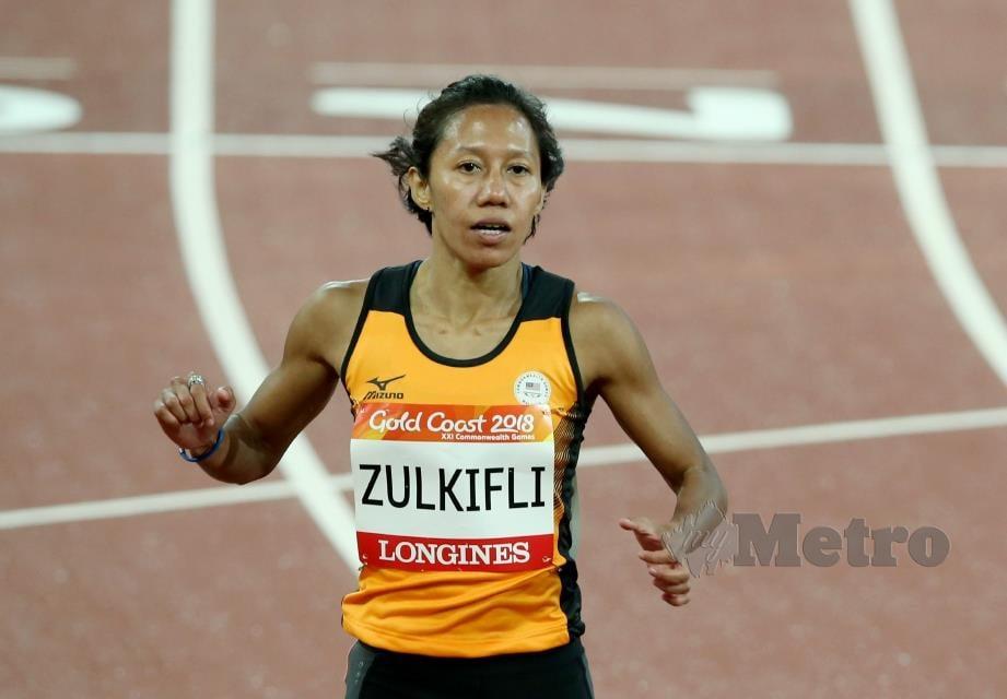 Zaidatul Husniah Zulkifli antara atlet olahraga dalam senarai KOM. FOTO File NSTP.