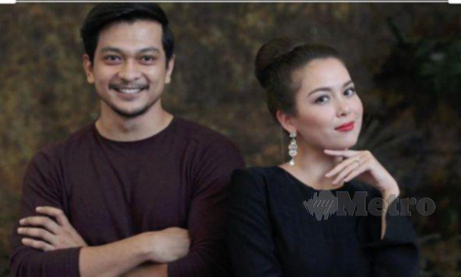 Syukri Yahya dan Siti Saleha, pelakon utama drama 7 Hari Mencintaiku dan 7 Hari Mencintaiku 2 di TV3