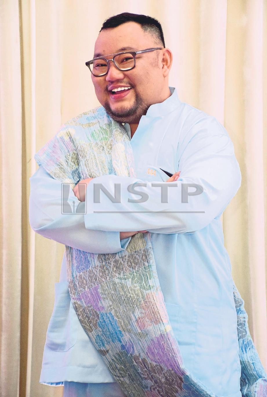 MICHAEL Ang. FOTO Mohd Asri Saifuddin Mamat.