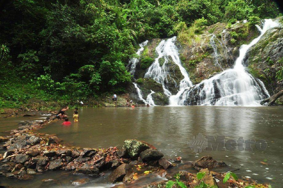 Taman Ekor Rimba (TER) Lata Meraung ditutup selama dua minggu bermula 28 September berikutan wabak Covid-19 di Jerantut. FOTO MOHD RAFI MAMAT