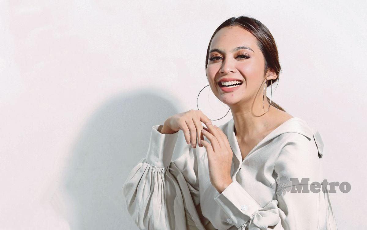 Pelakon drama Kampung People, Riena Diana. FOTO ROHANIS SHUKRI