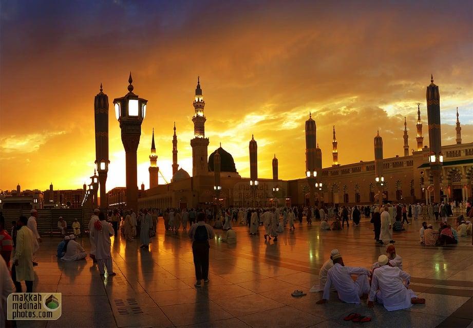 MAKAM Rasulullah terletak di Masjid Nabawi di Madinah.