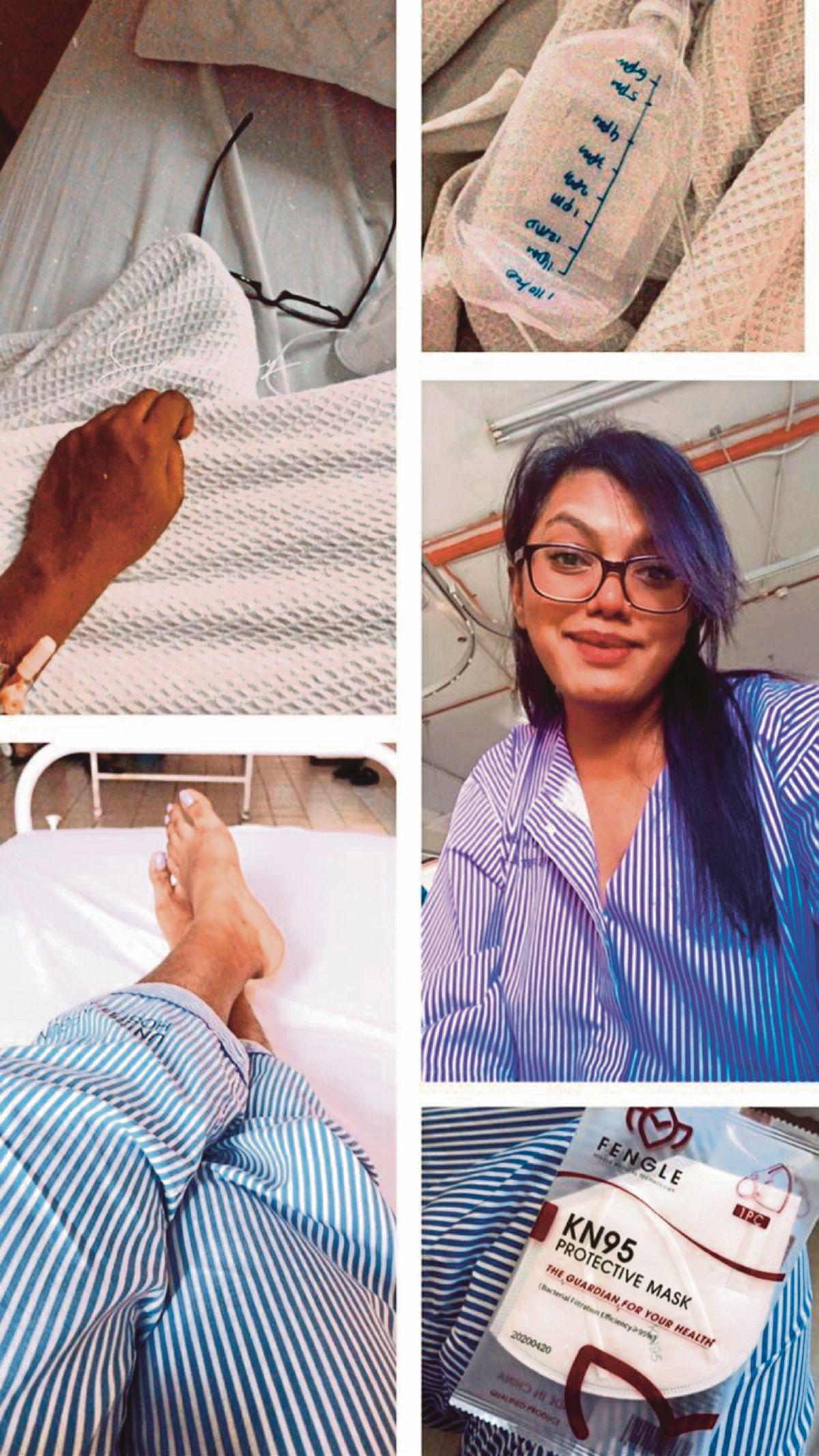 DR Saraswathy ditempatkan di wad selama 15 hari selepas dijangkiti Covid-19.