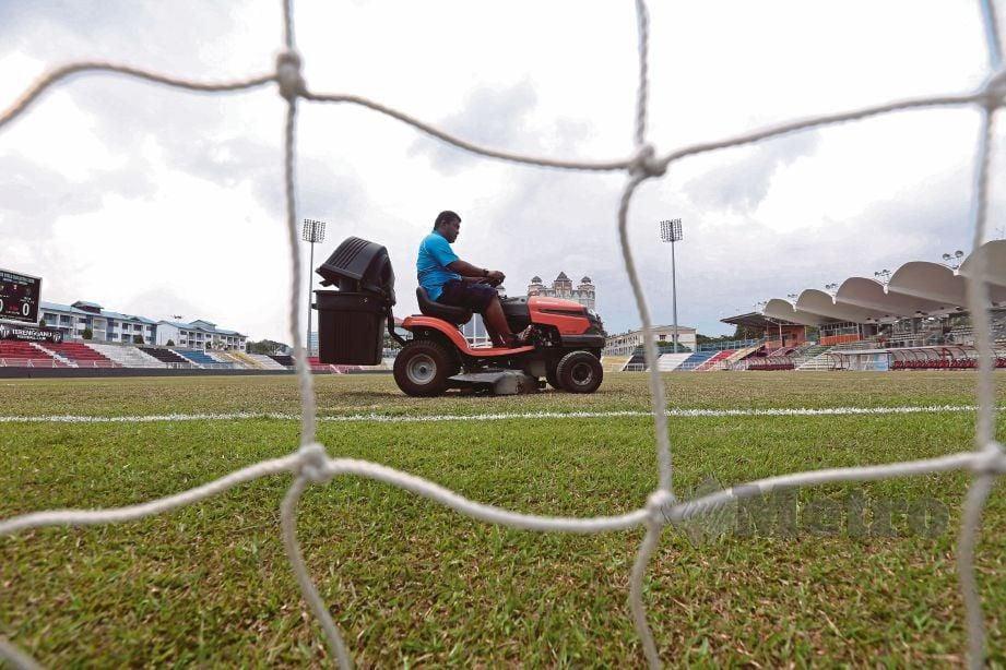 ASPEK keselamatan stadium perlu diberi perhatian serius. FOTO Ghazali Kori
