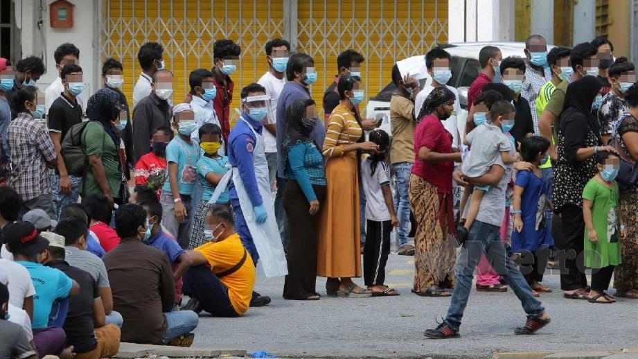 Jabatan Imigresen serbu Pasar Borong KL   Harian Metro