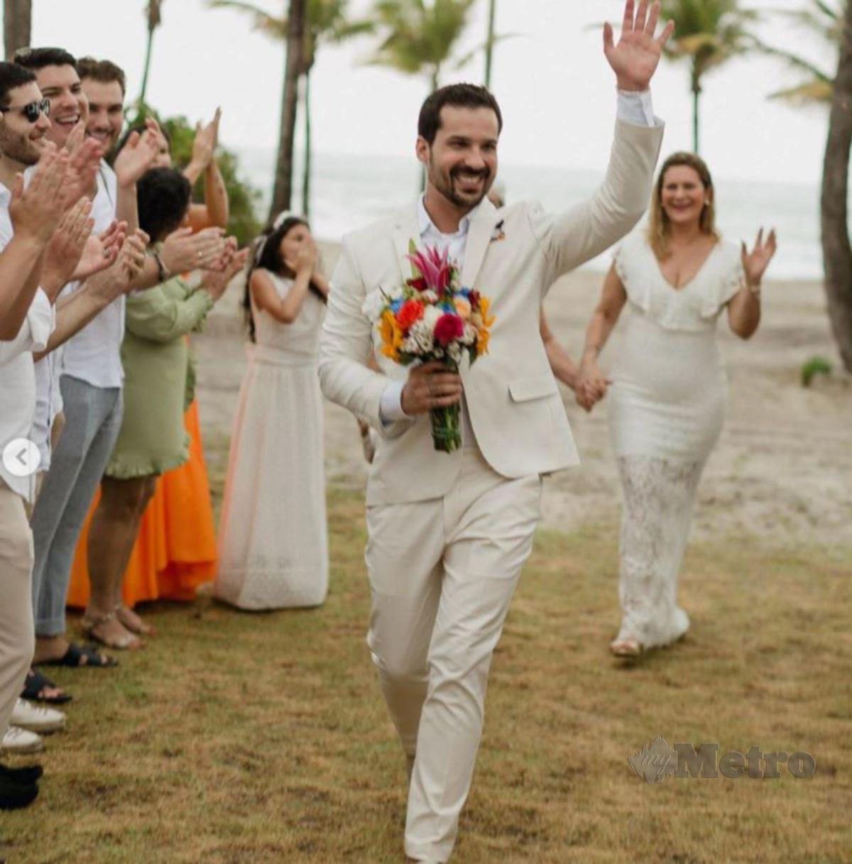 TETAMU majlis perkahwinan Rabelo. FOTO Instagram