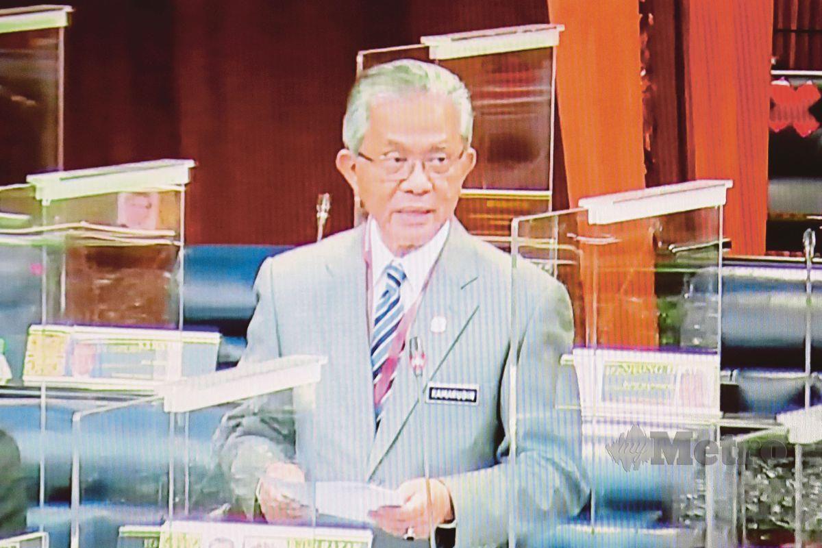 Timbalan Menteri Luar, Datuk Kamarudin Jaffar. FOTO AIZUDDIN SAAD