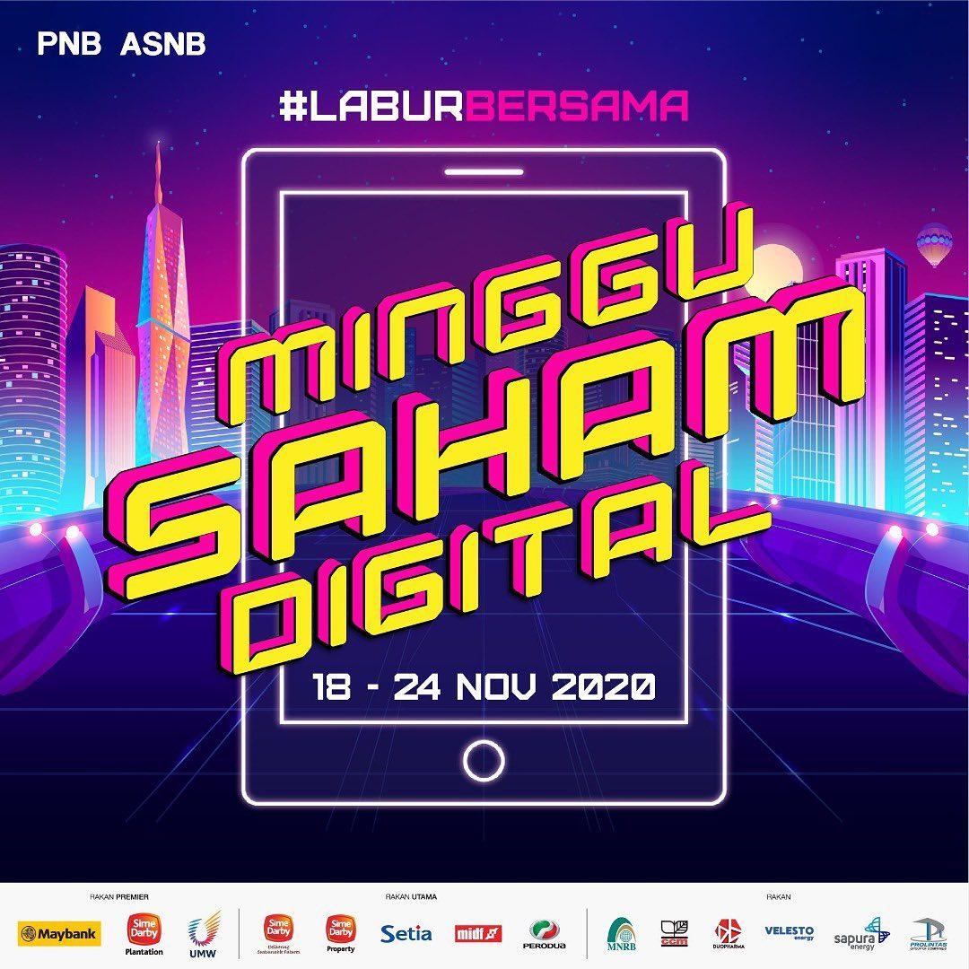 Selebriti tempatan meriahkan Minggu Saham Digital PNB 3