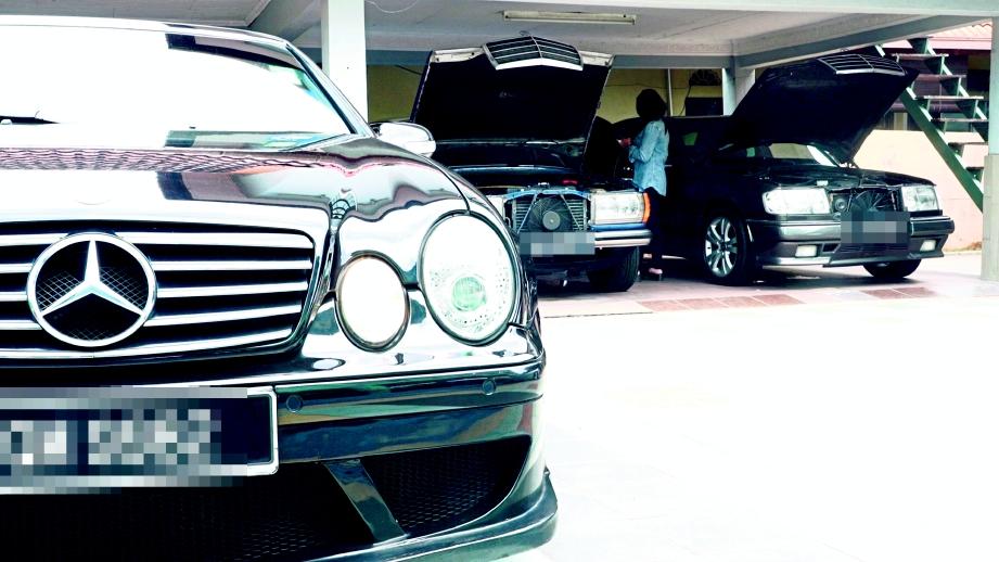 ANTARA koleksi Mercedes Benz milik Mohd Jais.