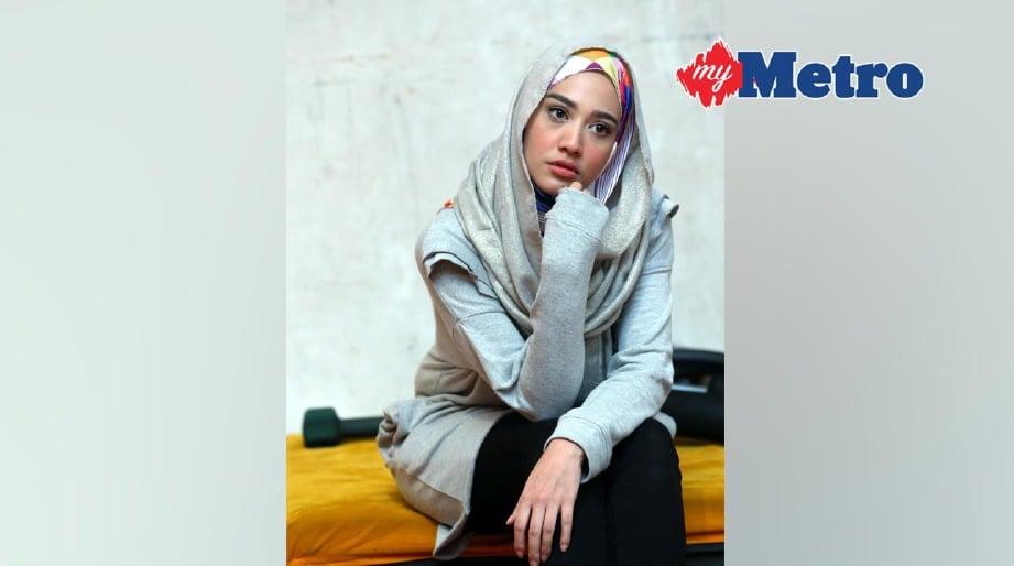 Fathia lihat sudut positif.FOTO ROHANIS SHUKRI