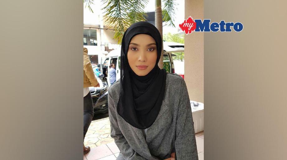 Zahirah melakonkan watak Luna. FOTO fail