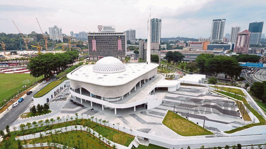 KOMPLEKS Balai Islam An-Nur memenuhi aspek Indeks Bangunan Hijau.