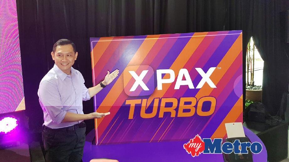 ZALMAN melancarkan pelan Xpax Turbo. FOTO Nurul Shafina Jemenon