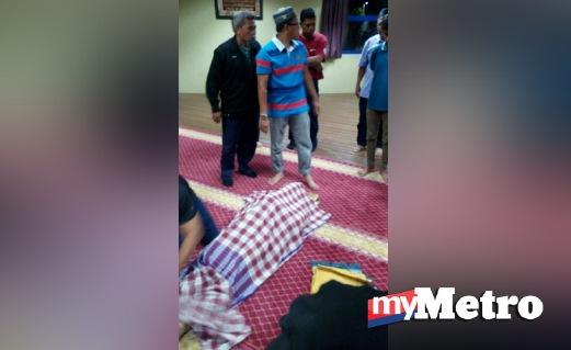 ARWAH meninggal dunia surau Balai Berita Shah Alam.