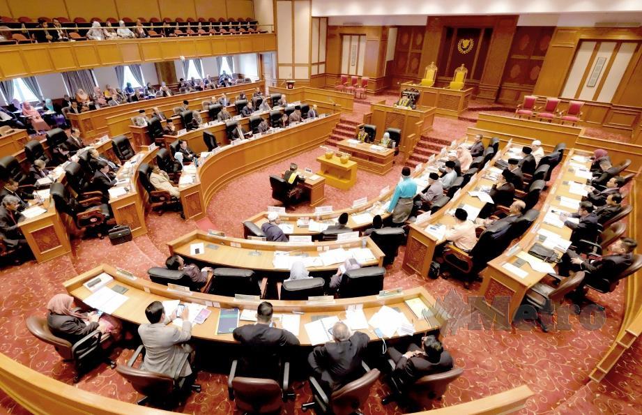 Dewan Undangan Negeri Kedah Yang ke-14 di Wisma Darul Aman.