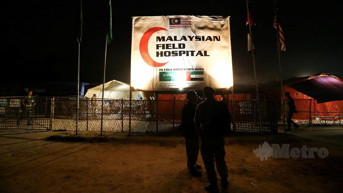 Hospital Medan Malaysia di Cox's Bazar, Bangladesh pada 2018. FOTO arkib NSTP