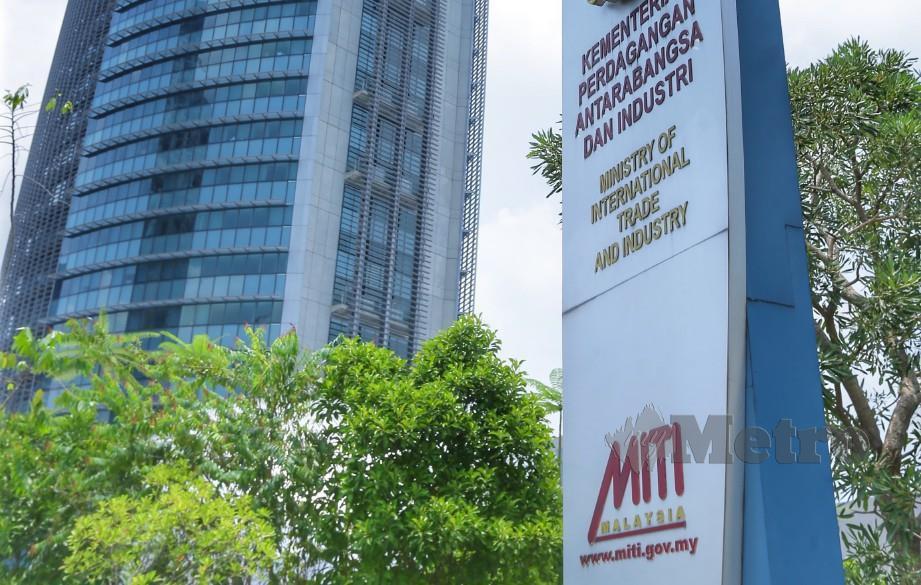 KUALA LUMPUR 14 APRIL 2019. Bangunan Kementerian Perdagangan Antarabangsa dan Industri, Jalan Duta. NSTP/NURUL SYAZANA ROSE RAZMAN