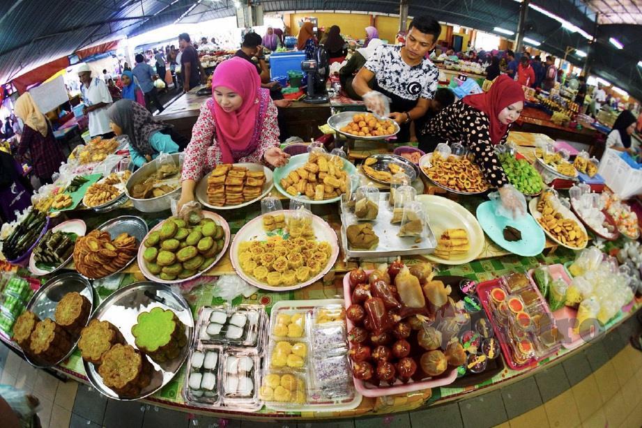 BAZAR Ramadan di Kuala Nerus, tahun lalu. FOTO arkib NSTP
