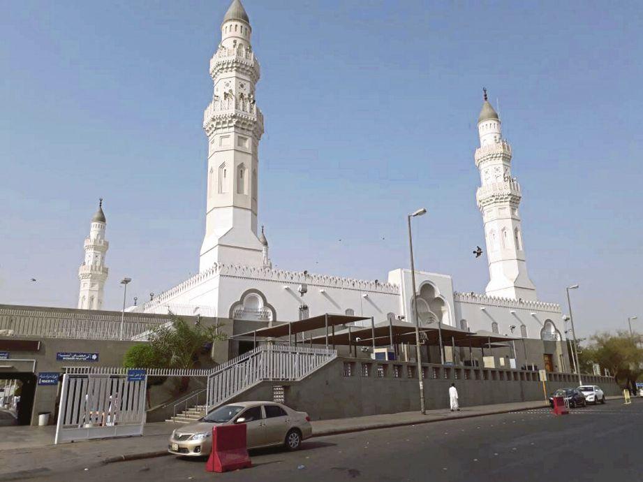 Masjid Quba yang bersejarah.