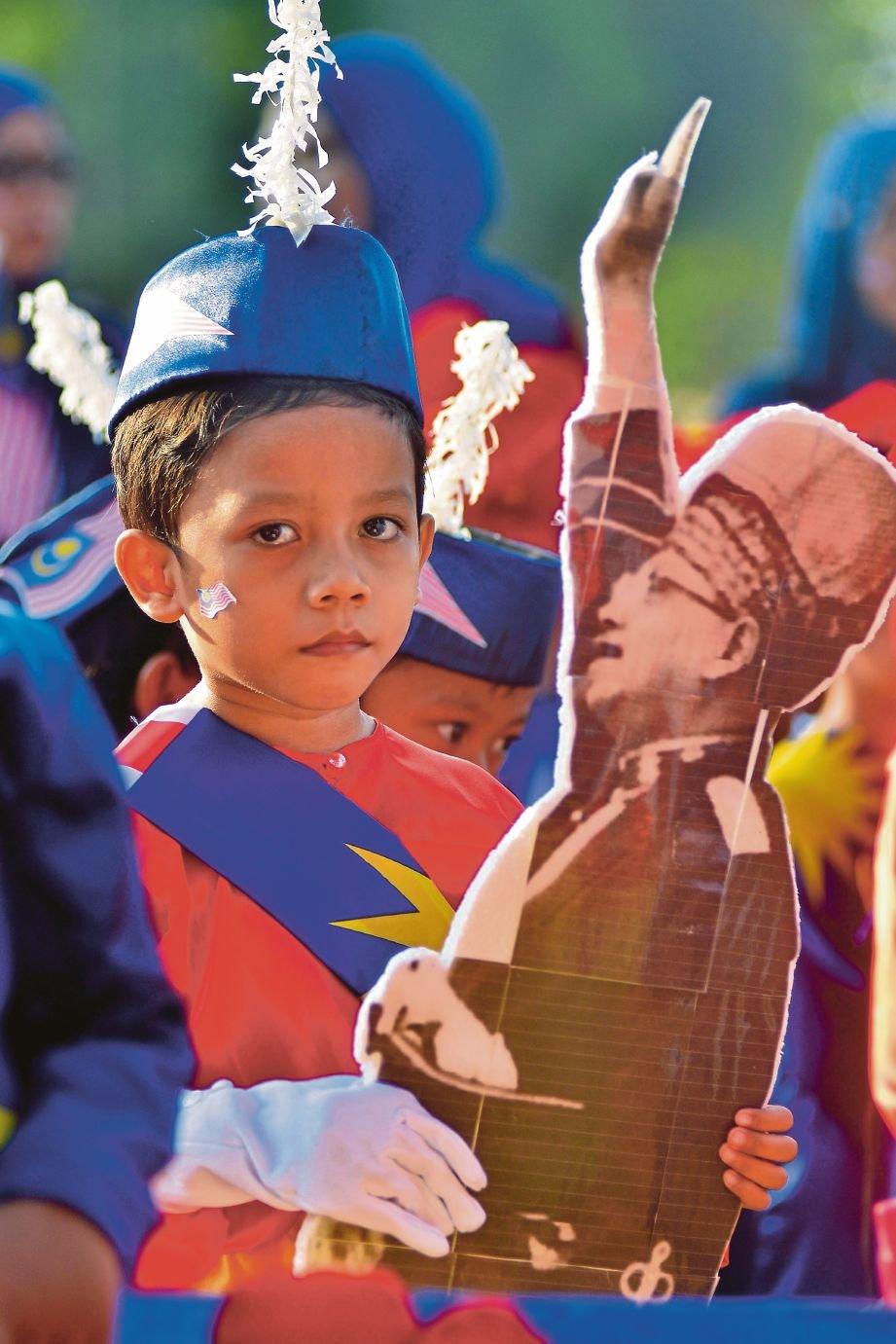 ACARA sekitar Sambutan Hari Kebangsaan Tabika Perpaduan Daerah Klang 2017.