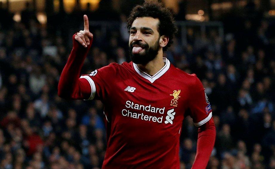 PEMAIN Liverpool, Mohamed Salah. - Foto REUTERS