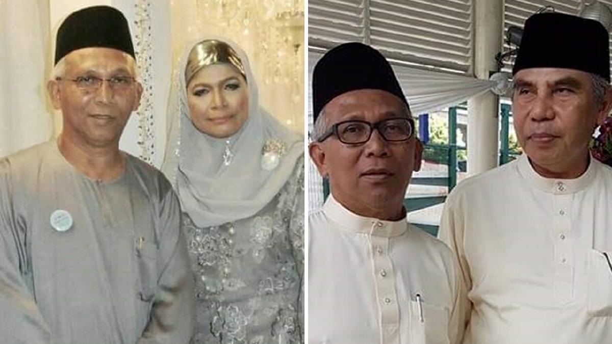 AISHAH berkongsi gambar Yaacob dan Salim pada kali terakhir mereka berjumpa pada majlis perkahwinan di Singapura, Februari lalu. FOTO Bernama