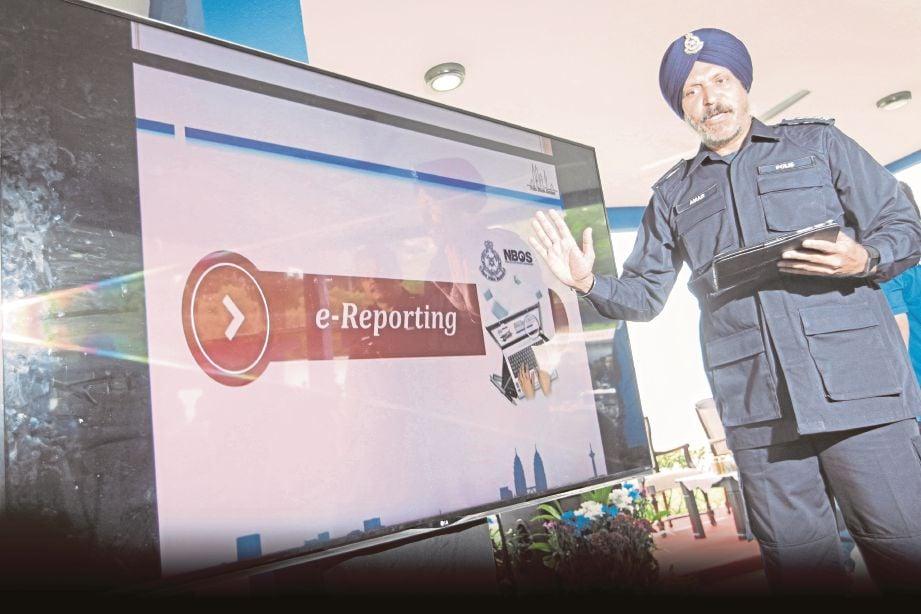 Sistem Laporan Polis Online E Reporting