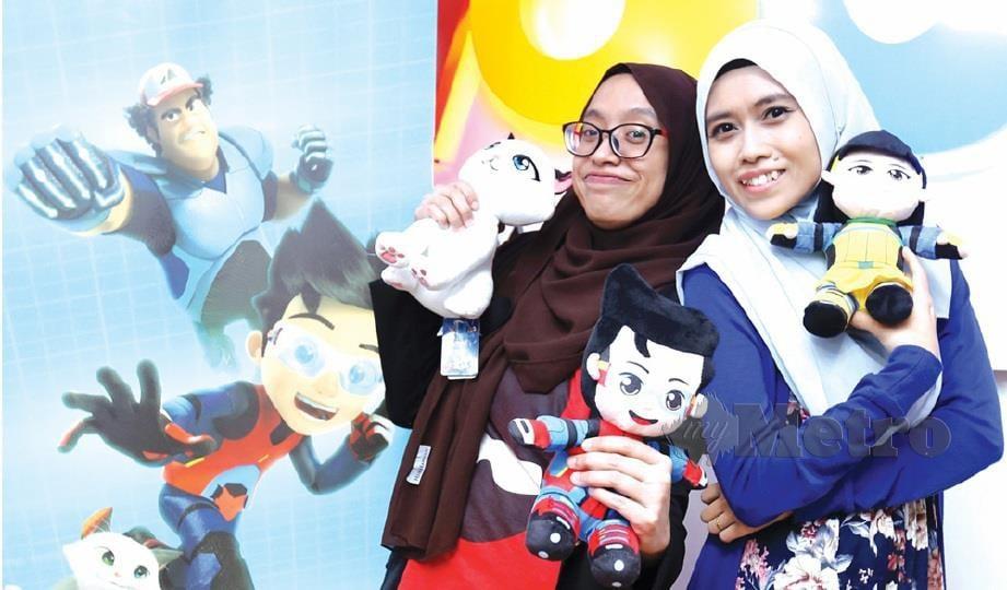 IDA Rahayu hidupkan watak Ejen Ali.