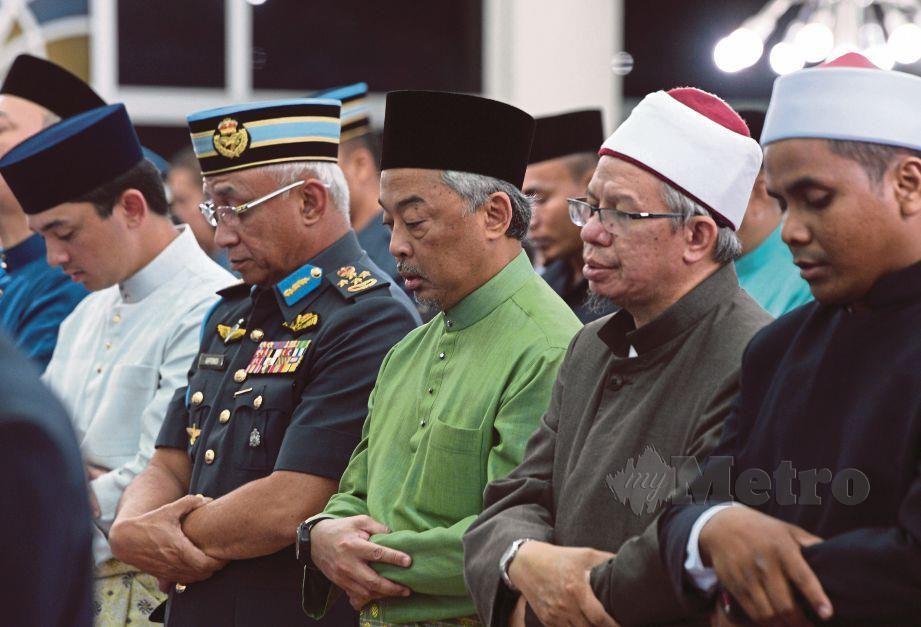 AL-Sultan Abdullah berkenan menunaikan solat Jumaat dan solat jenazah ghaib di Masjid Abdullah bin Zubair, Sungai Besi untuk mangsa yang terkorban dalam tragedi di Christchurch, New Zealand.