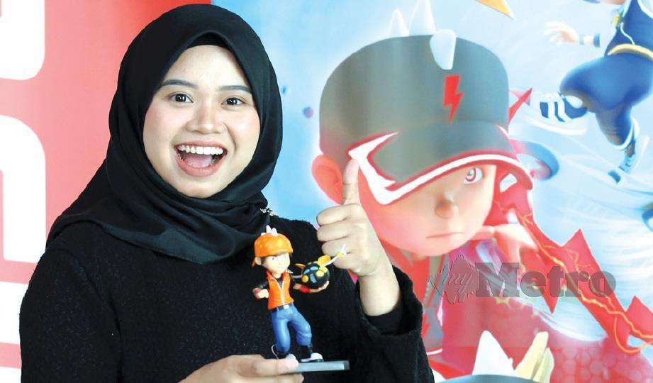 TIGA wanita hidupkan watak animasi Boboiboy, Ejen Ali, Ejen Alicia