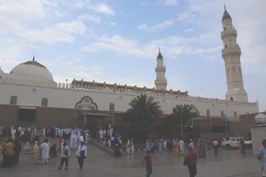 MASJID Quba menjadi saksi kepada kemunculan peradaban Islam.